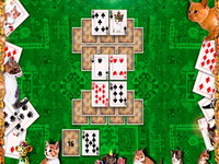 Kitty Tripeaks Solitaire